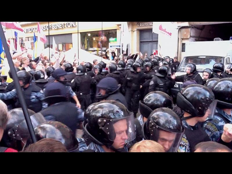 Новини з барикад: Буковинці в Києві за Юлю + ФОТО