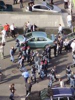 Як Тимошенко в СІЗО відвозили (ФОТОРЕПОРТАЖ)