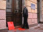 В Чернівцях Янукович отримав червону картку + ВІДЕО та ФОТО