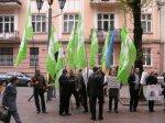 Буковинці виступили проти Харківських угод + ФОТО