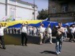 Буковинці пройшли маршом вулицями Чернівців в знак протесту проти мовного закону ФОТО