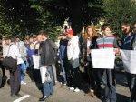 Чернівецькі олімпійці пікетують ратушу через житлові проблеми