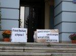 В Чернівцях невідомі намагались зірвати акцію молодіжки опозиції ФОТО+ВІДЕО
