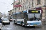 У Чернівцях маршрутом №34 курсує 6 комфортабельних німецьких автобусів