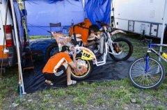"""На трасі """"Суперкрос"""" в Чернівцях вже відбувається підготовка мотокросменів"""