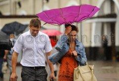1 липня оголошено штормове попередження