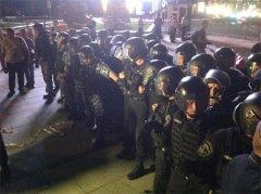 """""""Беркут"""" розігнав мітинг на Майдані"""