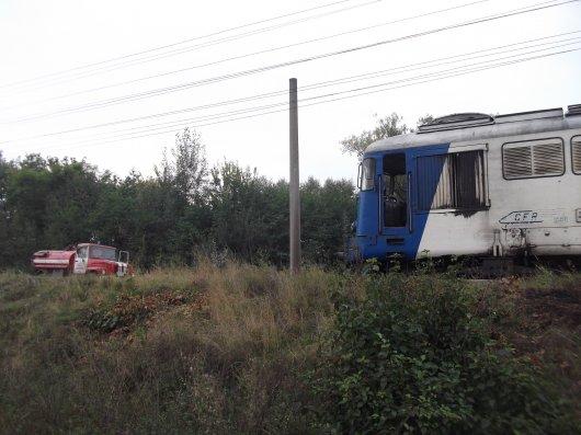 """На Буковині горів тепловоз потягу """"Москва-Софія"""""""