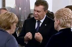 Янукович - Меркель та Грібаускайте: Я 3,5 роки був один на один з дуже сильною Росією (відео)