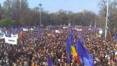 Паралельно з Чернівцями, проєвропейський мітинг під егідою влади провели і в Кишиневі