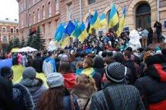 Партія регіонів на Буковині зриває сесію обласної ради.