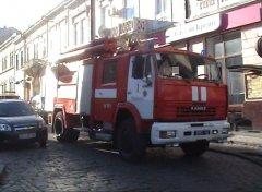 У Чернівцях по вулиці Заньковецької сталася пожежа