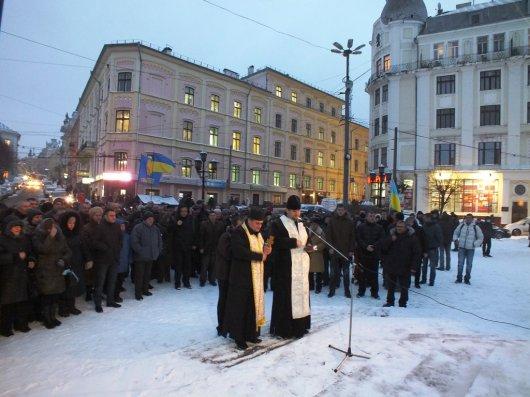 Опозиція закликає буковинців їхати на Майдан у Київ (фоторепортаж)