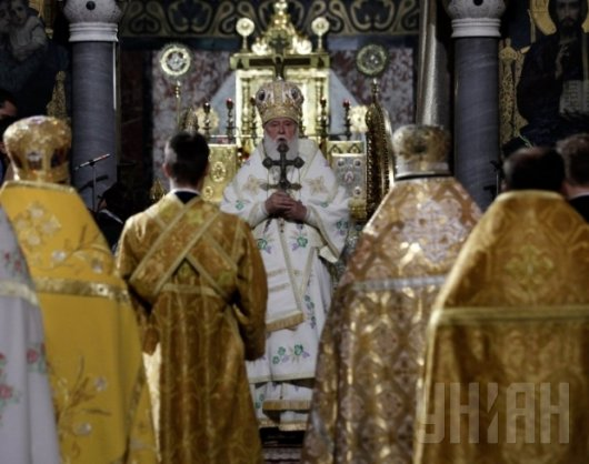 Патріарх Філарет відмовився від нагород Януковича