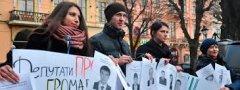 Люба Сорохан з Ленківців передумала карати студентів за пікетування міської ради