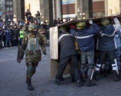 Самооборона Майдану переходить у наступ на урядовий квартал