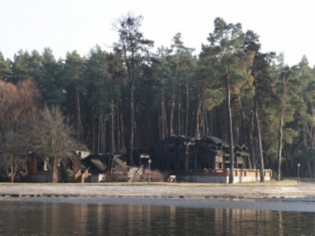 Дача Медведчука під Києвом згоріла