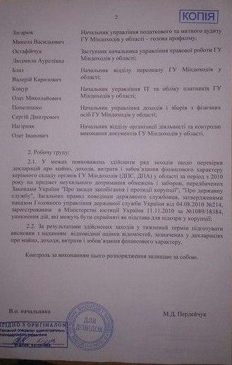 Правий сектор Буковини включили до складу комісії по виявленню корупційних схем (ДОКУМЕНТ)