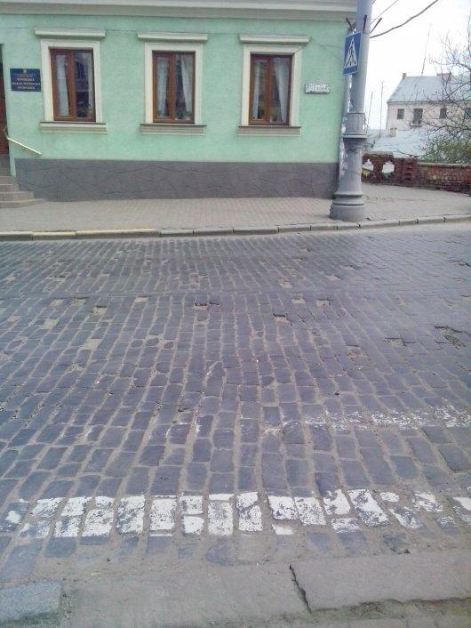 Безликі дороги Чернівців