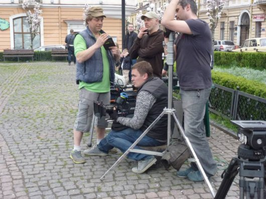 Фільм про заробітчанку, котрий знімали у Чернівцях, покажуть на екранах через рік