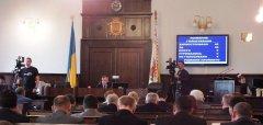 Депутати Чернівецької міської ради, пропрацювавши годину, пішли на перерву