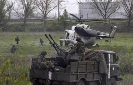 Слов'янськ повністю узятий в кільце. 4 загиблих