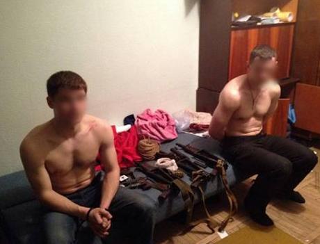 Захоплені в Києві диверсанти виконували завдання російських спецслужб - СБУ