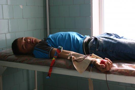 Чернівецькі студенти здали кров