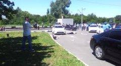 З'явилося відео розстрілу працівників ДАІ в Донецьку
