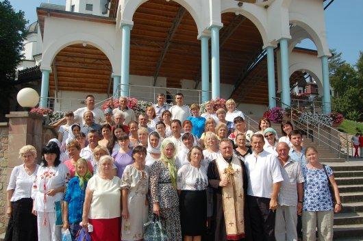 Проща Миру чернівецьких прочан до Зарваниці