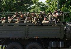 Українські військові відбили спробу прориву 150 терористів з Росії