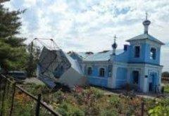У Лубнах впав купол церкви, де проклинали українських солдатів