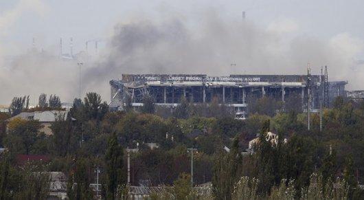 В боях 2 жовтня за донецький аеропорт знищений спецназ РФ, вбито сотні бойовиків