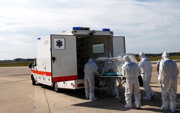 У Румунії госпіталізовано чоловіка з підозрою на вірус Ебола