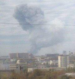 У Донецьку зафіксували надпотужний вибух за весь час війни ВІДЕО