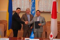 ПРООН, Уряд Японії та Уряд України співпрацюватимуть для підтримки відновлення критично важливої соціальної інфраструктури в Донецькій та Луганській областях
