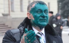 У Хмельницькому облили зеленкою депутата облради