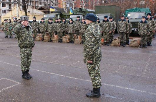 Чернівецькі прикордонники відправились для проходження бойового вишколу
