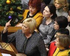 В українському парламенті жінки працьовитіші од чоловіків