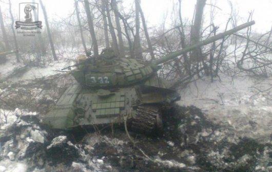 Сили АТО знищили підрозділ з 16 танків бойовиків під Дебальцевим