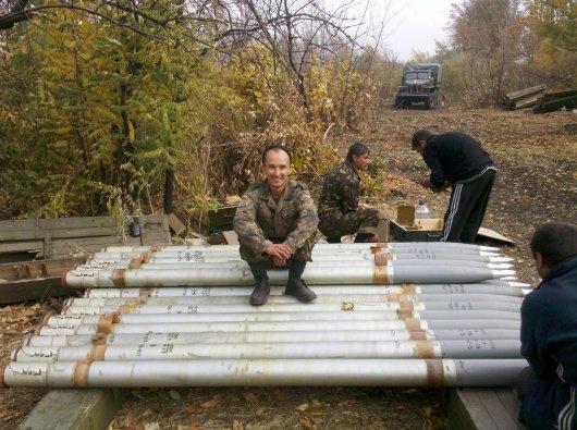 Воюють три солдати