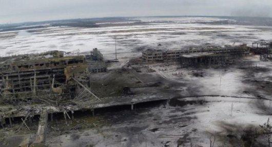 У Донецькому аеропорту знайдений живим український військовослужбовець - штаб АТО