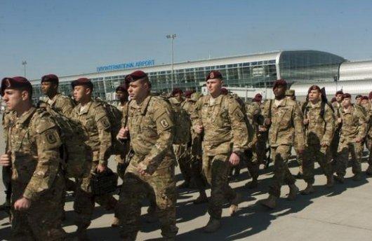 В Україну прибули американські десантники