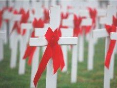 15 травня Україна вшанує пам'ять людей, які померли від СНІДу