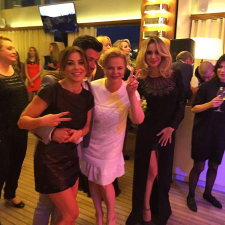 Буковинка Лорак розважала дружину російського медіамагната