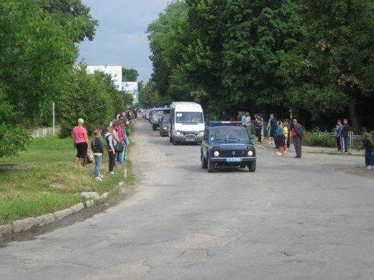 Тіло загиблого «кіборга» Олександра Боднарюка привезли в Хотин