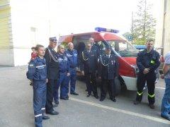 Поляки подарували сторожинецьким рятувальникам пожежний автомобіль