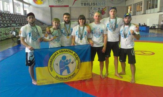 Буковинські спортсмени гідно виступили на чемпіонаті Європи з панкратіону