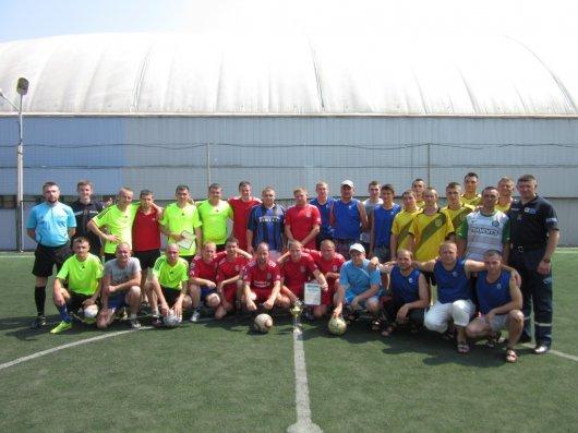 У Чернівцях відбулися змагання з міні-футболу серед працівників Управління ДСНС
