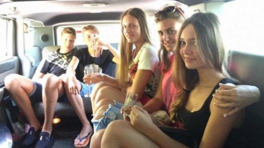 Родина Кучми відривається на повну в Криму